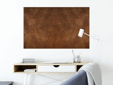 old brown rustic leather - background banner panorama long