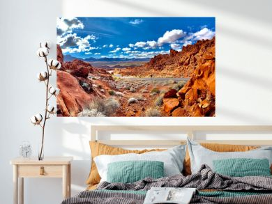 Amazing landscape in Valley of Fire