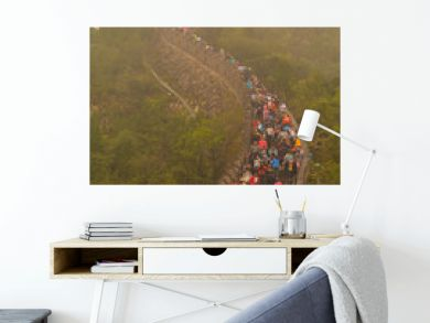 People On The Great Wall Of China