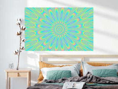 psychedelic dazzle petal