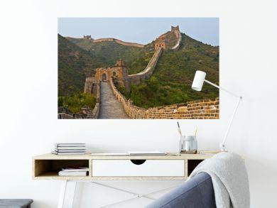 Along the wall