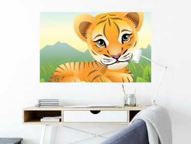 Baby Animal collection: Tiger. More animals in my gallery.