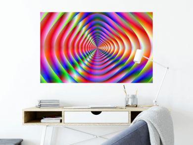 Psychedelic Loudspeaker Cone