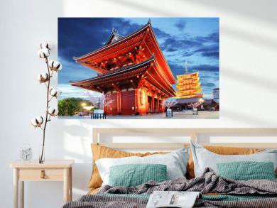Tokyo - Sensoji-ji, Temple in Asakusa, Japan
