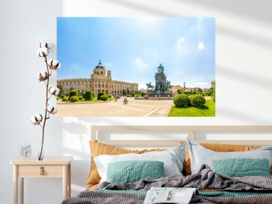 Maria Theresien Platz Panorama
