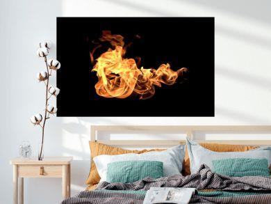 Flames fire burning heat.