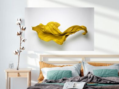 abstract flying fabric