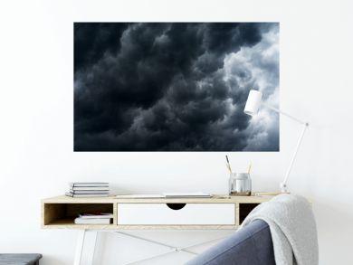 rain cloud, storm cloud before a thunder storm Background