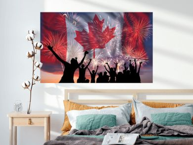 Fireworks on day of Canada