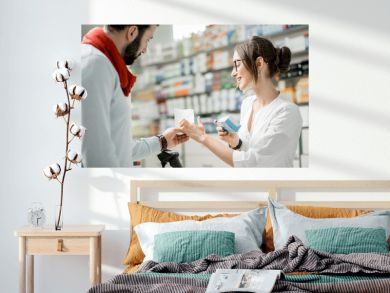 Buying medications in the pharmacy