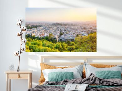 Cityscape of beautiful Athens - Greece