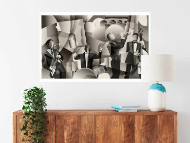 Jazz band in Paris