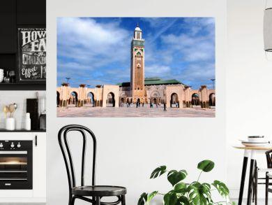 moschea di Hassan 2`a Casablanca in Marocco