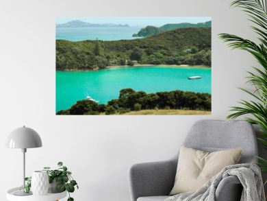 Otehei bay in New Zealand