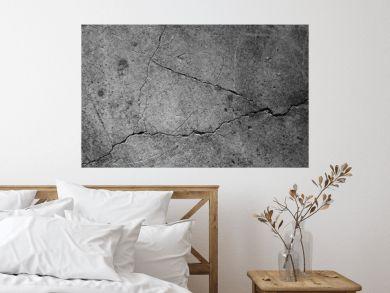 Crack concrete texture surface background.