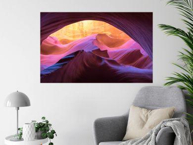 Antelope Canyon natural rock formation