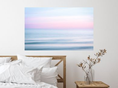Abstract sunrise sky and  ocean nature background
