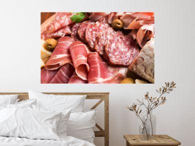 Salame e prosciutti Italiani, Italian Appetizers