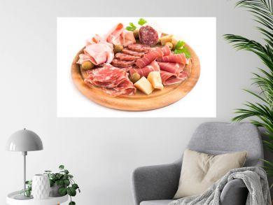 Tagliere di salumi, prosciutti e formaggio, Italian Appetizers