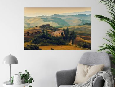 Tuscany, Italy - San Quirico d'Orcia