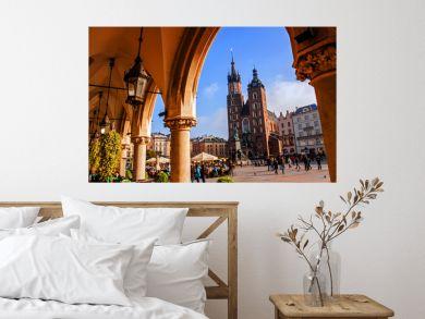 Saint Mary Basilica in Krakow