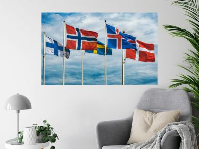 Flags of Scandinavia