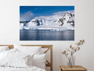 Stunning icy landscapes, Chiriguano Bay, Danko Island, Antarctic Peninsula, Antarctica