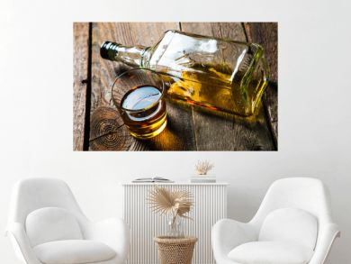 Alcohol. whiskey