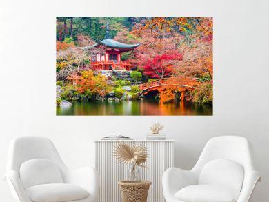 Kyoto, Japan at Daigoji Temple in Autumn.