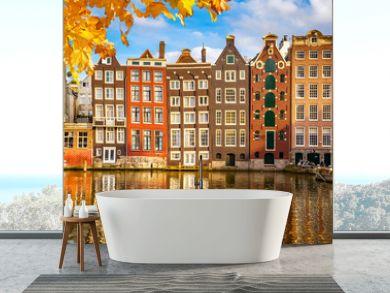 Old buildings in Amsterdam
