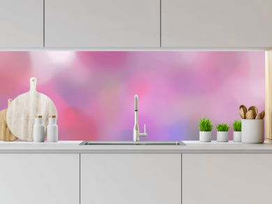 blurred bokeh iridescent landscape format background with pastel violet, thistle and pale violet red colors space for text or image