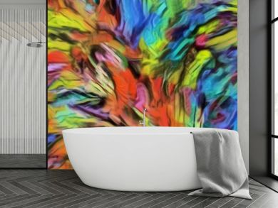 Abstract art wallpaper. Digital painting colorful artwork. Modern style graphic drawing texture background.