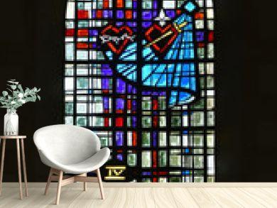 Eglise Ste Marie de Ré  vitrail