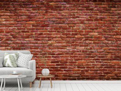 panoramic view of masonry, brick wall as background