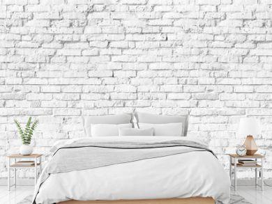 white brick wall texture