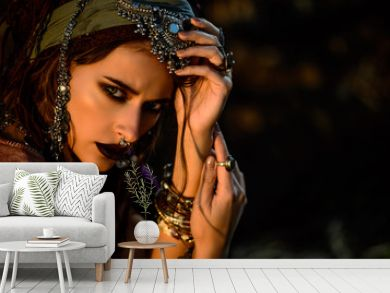 stylish fortune teller