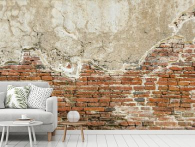 Red brick wall texture background,brick wall texture for for interior or exterior design backdrop,vintage tone.