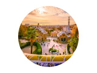 Guell-park in Barcelona