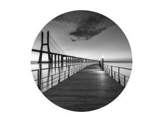Vasco da Gama-brug bij B&amp W