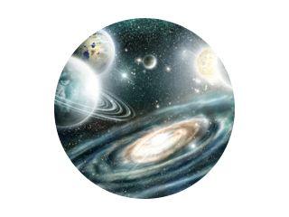 Zonnestelsel en spiraalstelsel