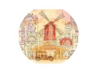Parijs in aquarel, Moulin rouge