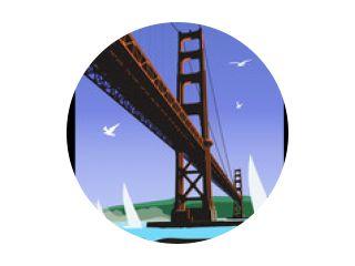 De Golden Gate Bridge, San Francisco