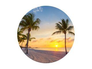 Zonsopgang op het strand van Smathers - Key West, Florida