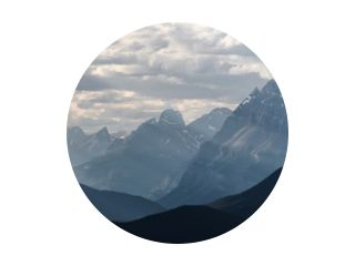 Banff National Park - Dramatisch landschap langs de Icefields Parkway, Canada