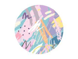Abstracte collage achtergrond hand getekend kleurrijk. Prachtige kunst schilderij gekleurd met hand tekenelement voor stof print, inpakpapier, afdrukbare kunst, behang, banner en poster achtergrond.
