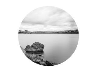 Digley Reservoir Laag water