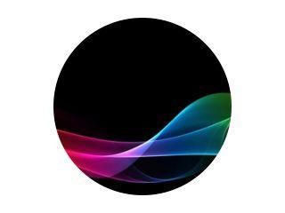 Abstracte regenboog lichtgolf futuristische achtergrond