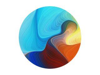 horizontale kleurrijke abstracte golfachtergrond met peru, firebrick en lichte overzeese groene kleuren. kan worden gebruikt als textuur, achtergrond of wallpaper