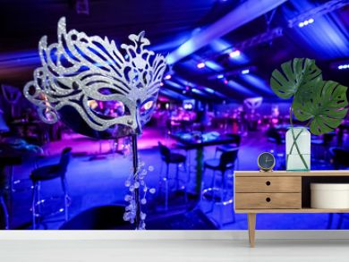 Masquerade Mask for catering & decor purposes at corporate Christmas Gala Event Party