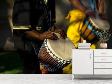 african drummer